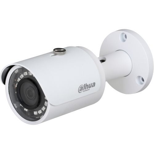 Camera de supraveghere Dahua HAC-HFW1000S, HD-CVI, Bullet, 1MP, 3.6mm, 18 LED, IR 30m, D-WDR, Rating IP67, Carcasa aluminiu
