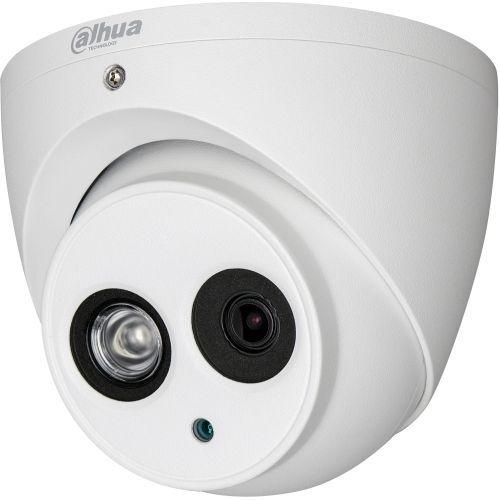 Camera de supraveghere Dahua HAC-HDW2221EM, HD-CVI, Dome, 2MP, 3.6mm, EXIR 1 LED Array, IR 50m, WDR 120dB, Rating IP67, Carcasa aluminiu