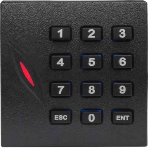 Cititor ZKTeco KR-102M, Card Mifare 13.56MHz, cu tastatura