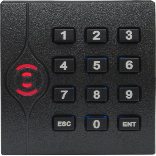 Cititor ZKTeco KR-202E, Card 125 KHz, Cu tastatura