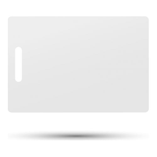 Accesoriu control acces PXW IDT-1001EM+C, Cartele de proximitate cu cip EM4100 (125KHz), cu cod printat