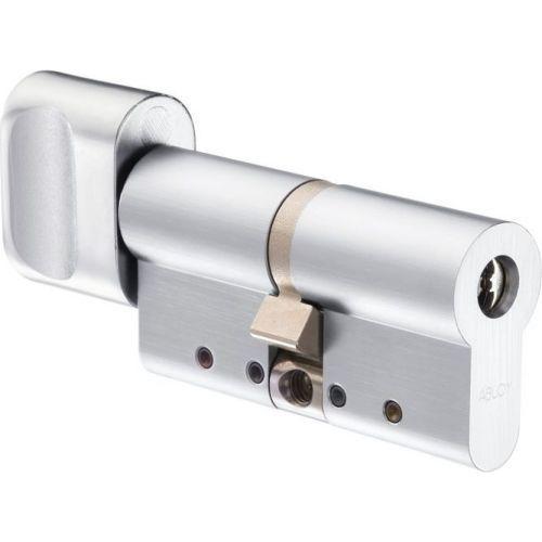 Accesoriu control acces Abloy CY323T 138065, cilindru PROTEC2, cu buton, 30x30