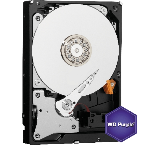 Hard Disk Western Digital Purple Surveillance 2TB SATA3 64MB