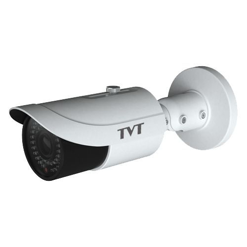 Camera IP TVT TD-9423E1(D/FZ/PE/IR3), Bullet, H.264, 2MP 1080P@30fps, CMOS 1/2.7 inch, 2.8-12mm,  48 LED, IR 50M, Carcasa metal, POE