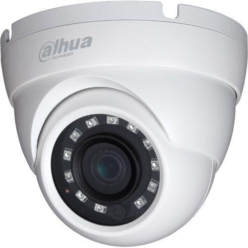 Camera de supraveghere Dahua HAC-HDW1100M S3, HD-CVI, Dome, 1MP, 3.6mm, 12 LED, IR 30m, D-WDR, Rating IP67, Carcasa aluminiu