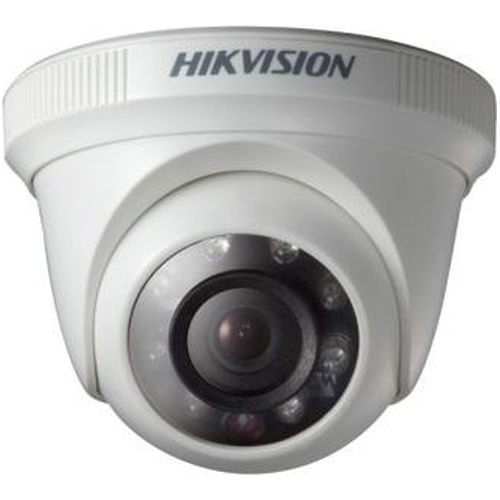 Camera Analogica Hikvision DS-2CE56C0T-IRP, TVI, Dome, 1MP, 6mm, 12 LED, IR 20m