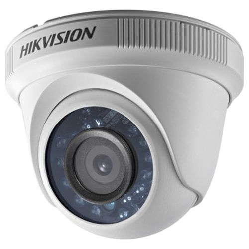 Camera Analogica Hikvision DS-2CE56C0T-IR, TVI, Dome, 1MP, 6mm, 24 LED, IR 20m