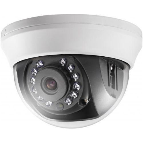 Camera de supraveghere Hikvision DS-2CE56C0T-IRMM, TVI, Dome, 1MP, 3.6mm, 12 LED, IR 20m