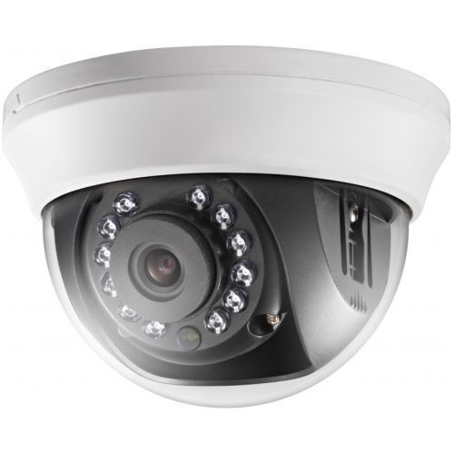 Camera Supraveghere Analogica Hikvision DS-2CE56D0T-IRMM, TVI, Dome, 2MP, 6mm, 12 LED, IR 20m