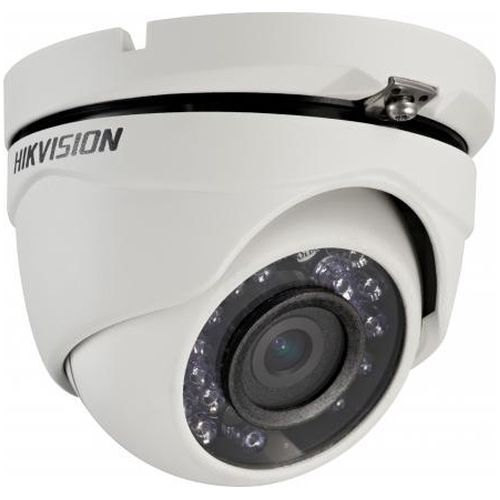 Camera Supraveghere Analogica Hikvision DS-2CE56D0T-IRM, TVI, Dome, 2MP, 6mm, 24 LED, IR 20m