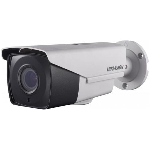 Camera Analogica Hikvision DS-2CE16D7T-AIT3Z, TVI, Bullet, 2MP, 2.8 - 12mm, EXIR 1 LED Array, IR 40m, Zoom motorizat, WDR 120dB, 12V/24V, UTC