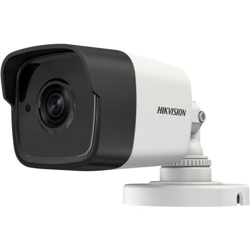 Camera Analogica Hikvision DS-2CE16H1T-IT, TVI, Bullet, 5MP, 3.6mm, EXIR 1 LED Array, IR 20m, Rating IP67, UTC