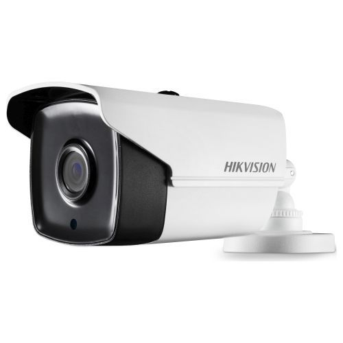 Camera Analogica Hikvision DS-2CE16H1T-IT5, TVI, Bullet, 5MP, 12mm, EXIR 1 LED Array, IR 80m, Rating IP67, UTC