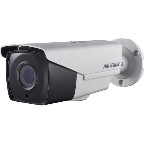 Camera Analogica Hikvision DS-2CE16F7T-AIT3Z, TVI, Bullet, 3MP, 2.8 - 12mm, EXIR 1 LED Array, IR 40m, Zoom motorizat, WDR 120dB, 12V/24V, UTC