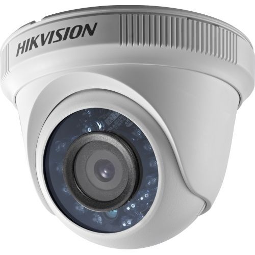 Camera Supraveghere Analogica Hikvision DS-2CE56D0T-IRP, TVI, Dome, 2MP, 6mm, 24 LED, IR 20m