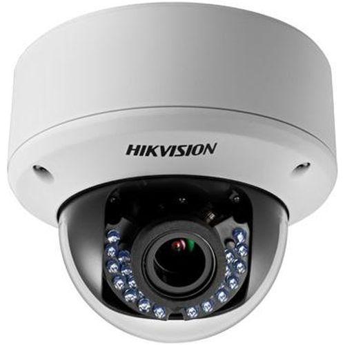 Camera Analogica Hikvision DS-2CE56D1T-AVPIR3Z, TVI, Dome, 2MP, 2.8-12mm, 24 LED, IR40m, Zoom motorizat, Antivandal IK10, Motion Detection, 12V/24V