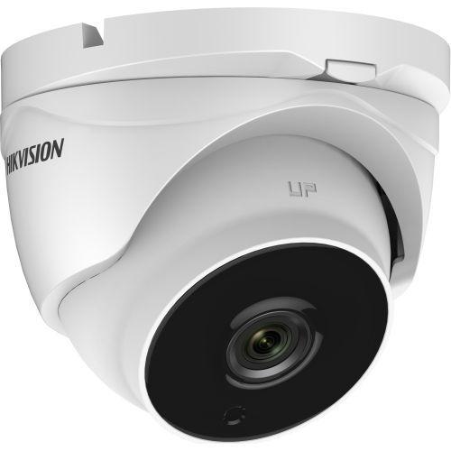 Camera Supraveghere Analogica Hikvision DS-2CE56H1T-IT3Z, TVI, Dome, 5MP, 2.8 - 12mm, EXIR 1 LED Array, IR 40m, Zoom motorizat, Rating IP67, UTC