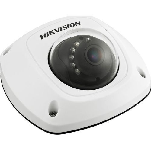 Camera Analogica Hikvision DS-2CS54D7T-IRS, TVI, Mini Dome, 2MP, 6mm, 10 LED, IR 20m, Antivandal IK07, WDR 120dB, Microfon, UTC