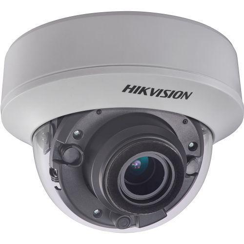 Camera Analogica Hikvision DS-2CC52D9T-AITZE, TVI/CVBS, Dome, 2MP, 2.8-12mm, EXIR 2.0 2 LED Arrays, IR40m, WDR 120dB, Zoom motorizat, PoC, 12V/24V
