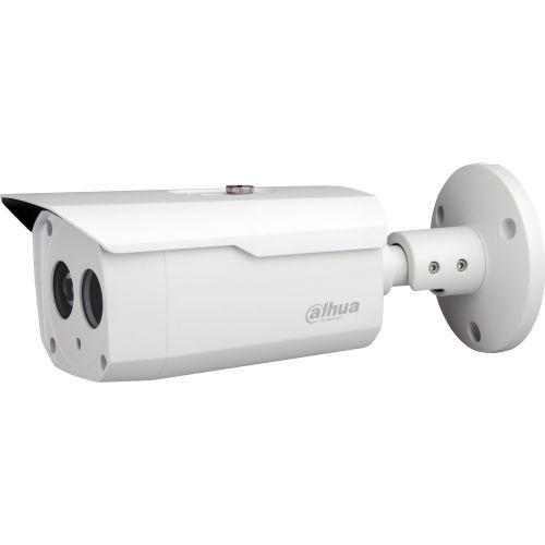 Camera de supraveghere Dahua HAC-HFW1220B, HD-CVI/CVBS, Bullet, 2MP, 3.6mm, EXIR 1 LED Array, IR 50m, D-WDR, Rating IP67, Carcasa aluminiu, HLC