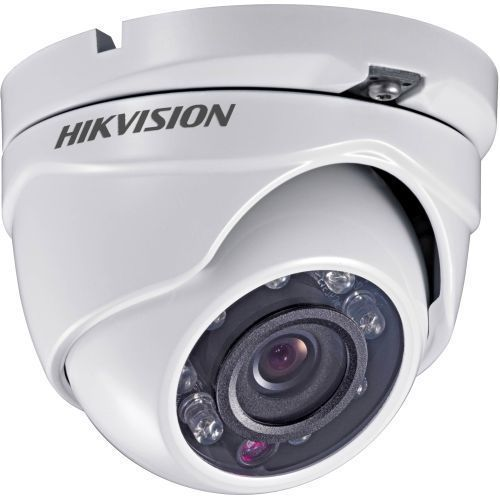 Camera Supraveghere Analogica Hikvision DS-2CC52D5S-IRM, HD-SDI/CVBS, Dome, 2MP, 3.6mm, 24 LED, IR 20m, WDR 120dB, Rating IP66, Motion Detection, Carcasa metal