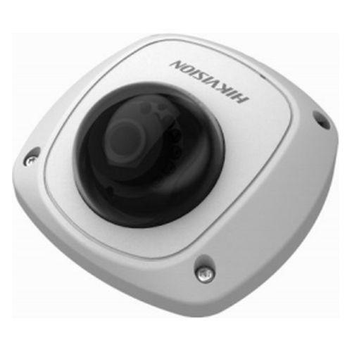 Camera de supraveghere Hikvision DS-2CS54A1P-IRS, CVBS, Mini Dome, 700 TVL, 2.8mm, 10 LED, IR 20m, Motion Detection, Antivandal IK07, D-WDR, Microfon