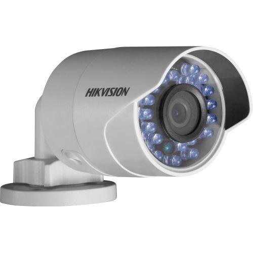 Camera de supraveghere Hikvision DS-2CD2012F-I, IP, Bullet, 1.3MP, 6mm, 32 LED, IR 30m, D-WDR, H.264, Motion Detection, PoE .3af, Low Light