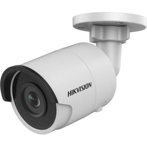 Camera de supraveghere Hikvision DS-2CD2055FWD-I, IP, Bullet, 5MP, 2.8mm, EXIR 2.0 1 LED Array, IR 30m, H.265+, WDR 120dB, Slot card, Carcasa metal