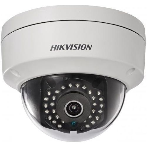 Camera de supraveghere Hikvision DS-2CD2142FWD-IS, IP, Dome, 4MP, 8mm, 32 LED, IR 30m, H.264+, WDR 120dB, Antivandal IK10, Alarm I/O, Audio I/O