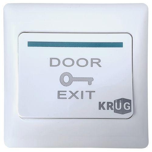 Accesoriu control acces KrugTechnik Buton iesire KPBE6, Plastic