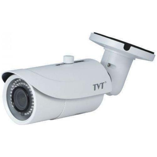 Camera IP TVT TD-9443E2(D/FZ/PE/IR3), Bullet, H.265, 4MP 1080P@30fps CMOS 1/3 inch, 3.3-12mm, 48 LED, IR 50M, carcasa metal, POE