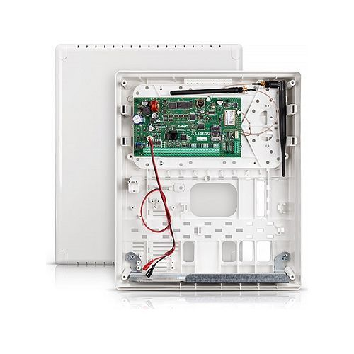 Kit antiefractie Satel Integra 128 Wireless, 16~128 zone, Comunicator GSM/GPRS integrat
