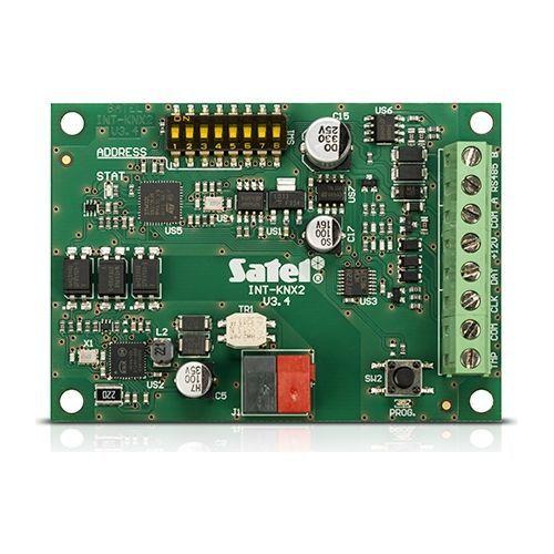 Modul alarma Satel Integrare sistem KNX INT-KNX-2