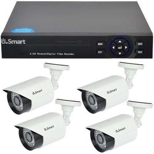 D1-404, 4-in-1, Full HD 1080p, 4 camere Bullet UB-423, Exterior