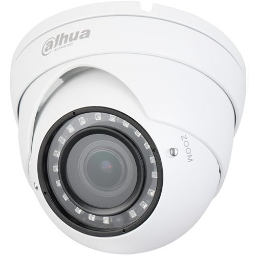 Camera Analogica Dahua HAC-HDW1400R-VF, HD-CVI, Dome, 4MP 1440p, 2.7-13.5mm, 20 LED, IR 30m, Carcasa aluminiu