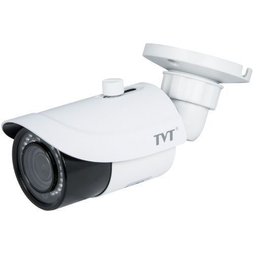 Camera IP TVT TD-9442S2(D/FZ/PE/IR2), Bullet, H.265, 4MP, CMOS 1/3 inch, 3.3-12mm, 36 LED, IR 30m,  PoE, Carcasa metal