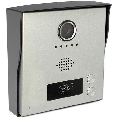 Post exterior videointerfon KrugTechnik KR-H2, 2 butoane, 2 fire
