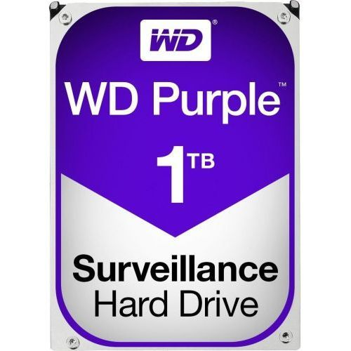 Hard Disk Western Digital Purple Surveillance 1TB SATA3 64MB 5400RPM