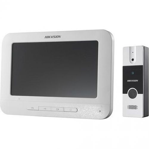 Kit Videointerfon DS-KIS202, Post exterior DS-KB2411-IM + Monitor DS-KH2220