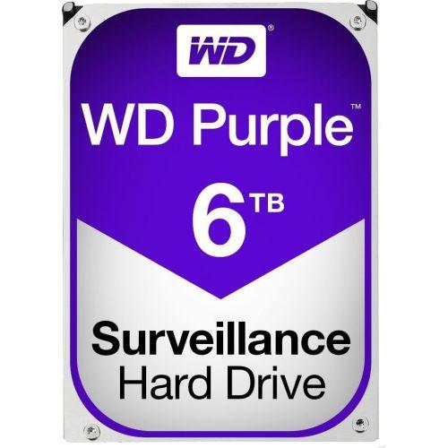Hard Disk Western Digital Purple Surveillance 6TB SATA3 64MB 5400RPM