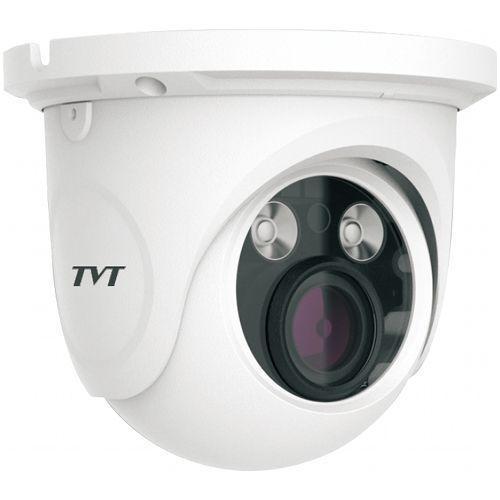 Camera IP TVT TD-9525S1(D/FZ/PE/AR2), Dome, 2MP, CMOS 1/2.8 inch, 2.8-12mm, 2 LED Array, IR 30M, PoE, Carcasa metal
