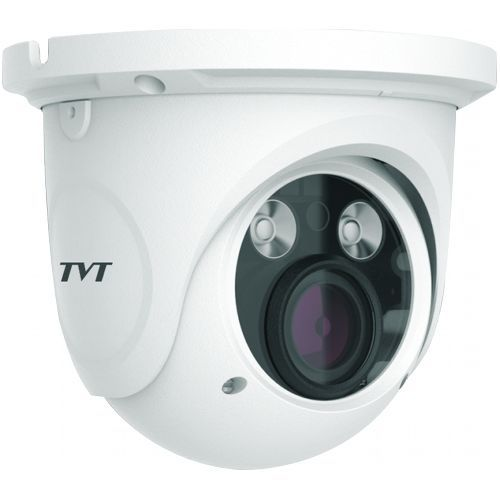 Camera de supraveghere TVT TD-9525S1H(D/FZ/PE/AR2), Dome, 2MP, CMOS Sony 1/3 inch, 2.8-12mm, 2 LED Array, IR 30M, Starlight, PoE, Carcasa metal