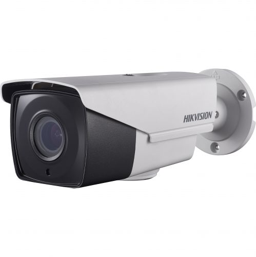 Camera Analogica Hikvision DS-2CE16D8T-IT3Z, TVI, Bullet, 2MP, 2.8-12mm, EXIR 1 LED Array, IR 40m, Zoom motorizat, WDR 120dB, IP67
