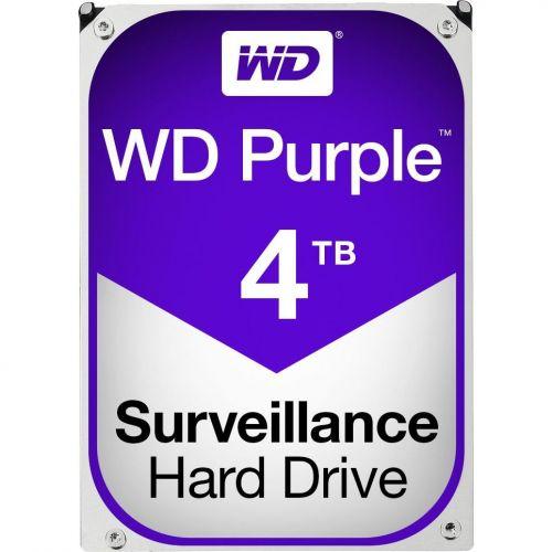 Hard Disk Western Digital Purple Surveillance 4TB SATA 3 64MB 5400RPM