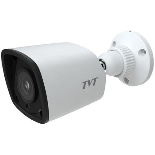 Camera IP TVT TD-9441S2(D/PE/IR1), Bullet, 4MP, CMOS 1/3'', 2.8mm, 24 LED, IR 20M, H.265, PoE, Carcasa metal