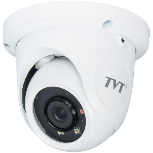 Camera IP TVT TD-9524S1H(D/PE/AR1), Dome, 2MP, CMOS Sony 1/3'', 2.8mm, 2 SMD LED , IR 20M, Starlight, H.265, PoE, Carcasa metal