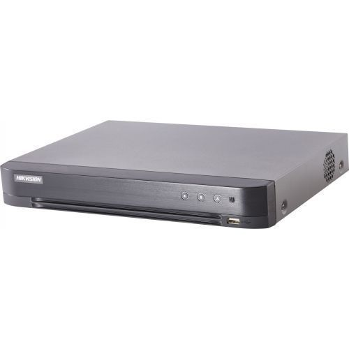DVR Hikvision DS-7216HQHI-K2/16A, TVI/AHD/CVI/CVBS, Max. 3MP, H.265+, 16 Audio IN, 16 canale + 2 IP