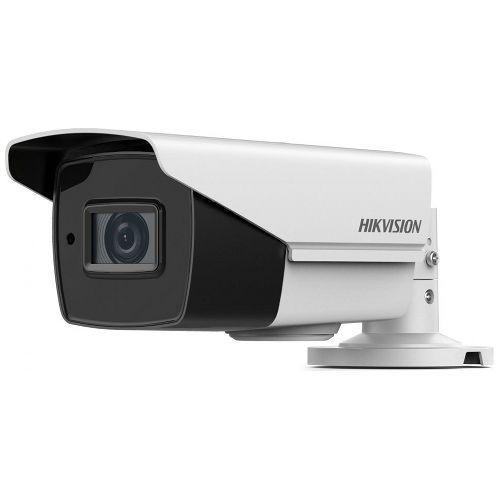 Camera de supraveghere Hikvision DS-2CE16H5T-IT3Z, TVI, Bullet, 5MP, 2.8-12mm, EXIR, IR 40m, Zoom motorizat, Carcasa metal