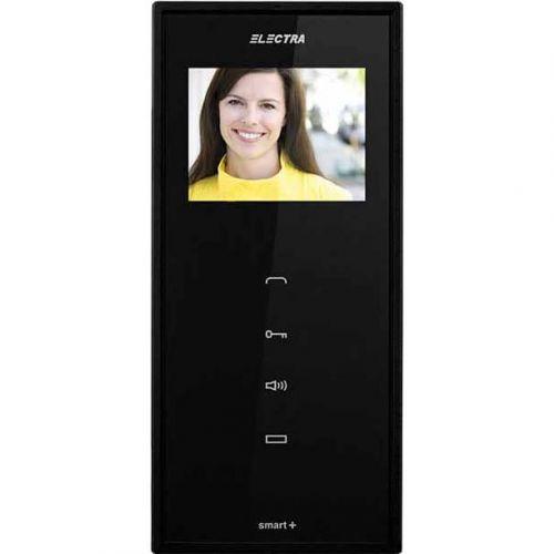Monitor videointerfon Electra Touch Line Smart+, Ecran LCD 3.5'', 4 fire, Negru
