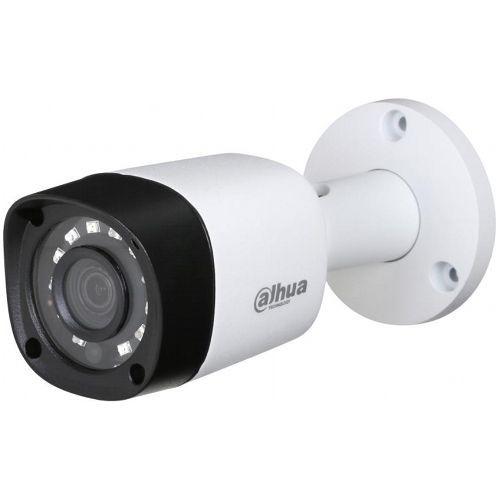 Camera Analogica Dahua HAC-HFW1200RM, HD-CVI, Bullet, 2MP 1080p, CMOS 1/2.7'', 2.8mm, 12 LED, IR 20m, IP67, Carcasa metal